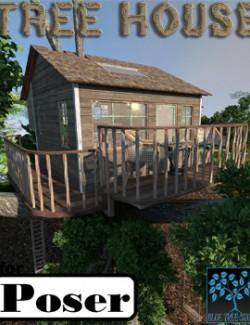 Tree House for Poser