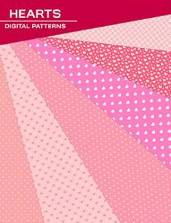 Digital Patterns - Hearts