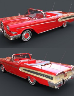EDSEL CITATION CONVERTIBLE for DAZ Studio