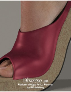 Diverse for Platform Wedge for La Femme