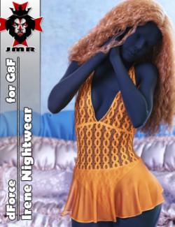 JMR dForce Irene Nightwear for G8F