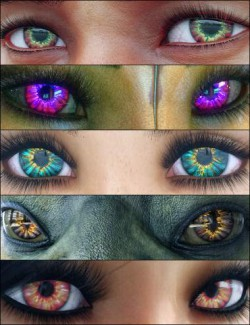 MMX Beautiful Eyes 2 for Genesis 3 and 8