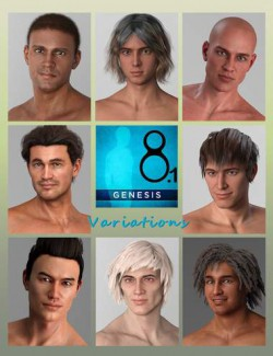 Variations for Genesis 8.1 Male