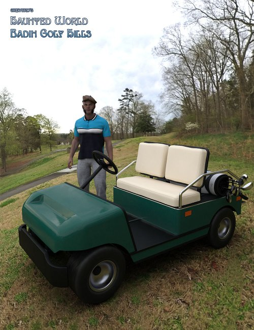 Greybro's Haunted World - Badin Golf Hills HDRI