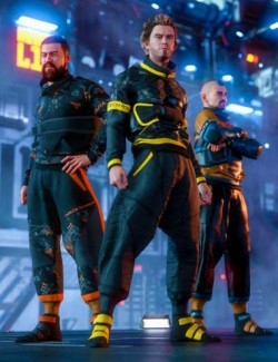 Futura Techwear for Genesis 8 Males