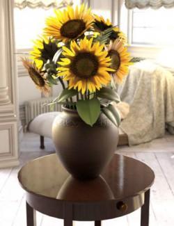 Sunflower Adornment