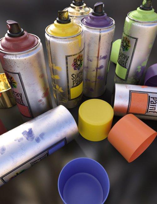 Artist Spray Paint Set