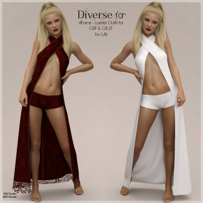 Diverse for dForce - Lorelei Outfit