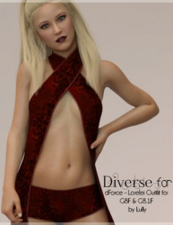 Diverse for dForce- Lorelei Outfit