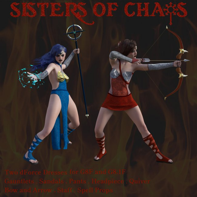Sisters of Chaos for G8/G8.1 Female