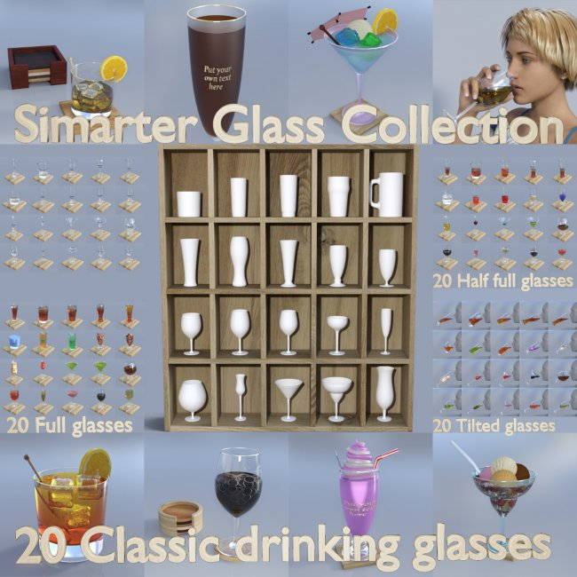 Simarter Drinking Glass Collection