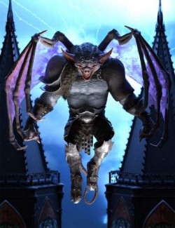 Stone Guardian Poses for Gargoyle HD