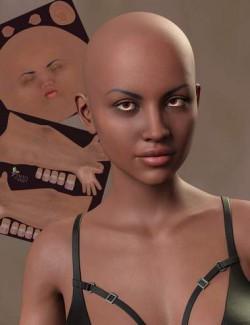 TMHL Dark Skin Merchant Resource for Genesis 8.1 Female