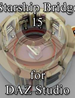 Starship Bridge 15 for DAZ Studio