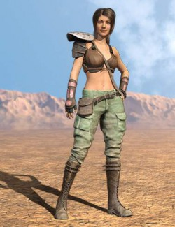 Bandit Sarah Outfit for Genesis 8 Females