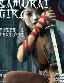 Samurai Girl Poses & Textures for GF8