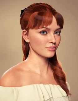 Debutante Hair for Genesis 8 and 8.1 Female