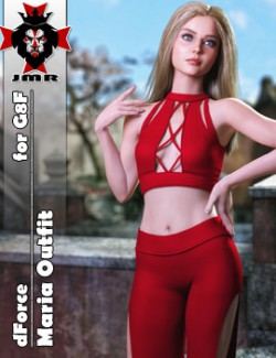 JMR dForce Maria Outfit for G8F