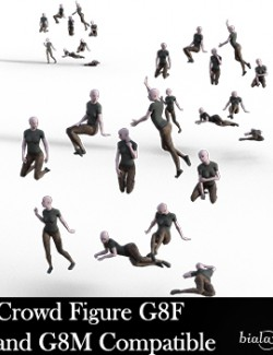 Crowd Figure G8F and G8M Compatible