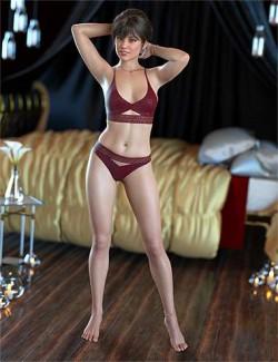 IM Lingerie Modeling Poses for Genesis 8 Female