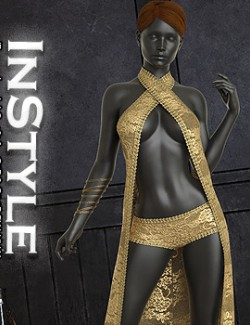 InStyle- dForce- Lorelei Outfit for G8F & G8.1F