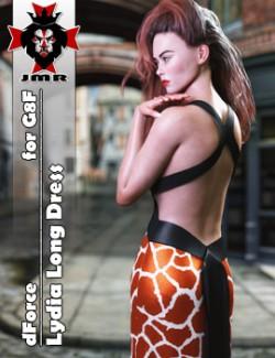 JMR dForce Lydia Long Dress for G8F