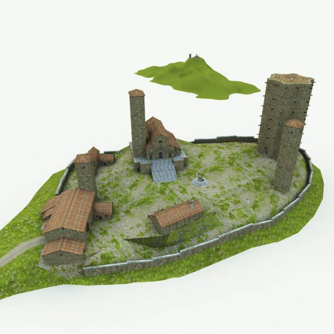 The Monastery for Poser