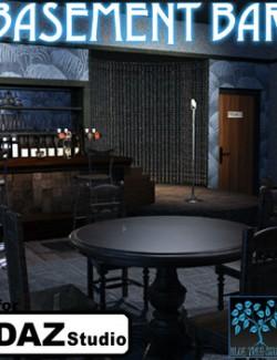 Basement Bar for Daz Studio