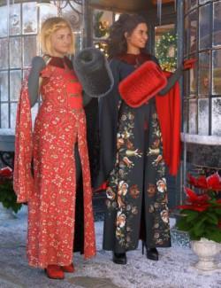 dForce Winter Splendor Outfit Textures