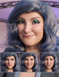 The Journalist- Expressions for Genesis 8.1 Female and Brooke 8.1
