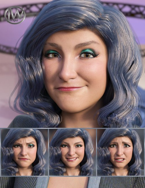 The Journalist - Expressions for Genesis 8.1 Female and Brooke 8.1