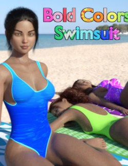 Bold Colors Swimsuit