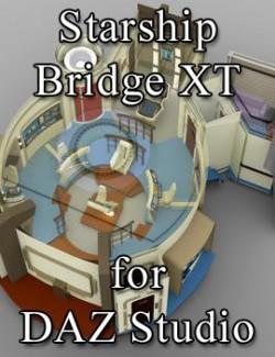 Starship Bridge XT for DAZ Studio