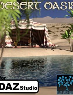 Desert Oasis for Daz Studio
