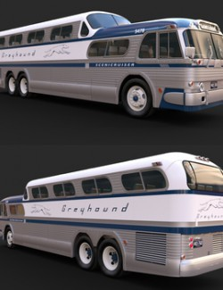 SCENICRUISER 1954 for DAZ Studio