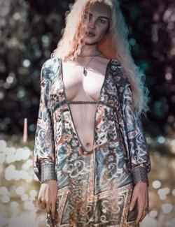 dForce CB Eliza Clothing Set for Genesis 8 and 8.1 Females