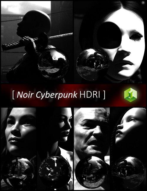 Noir Cyberpunk HDRI
