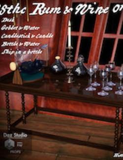 18thc Rum & Wine 01
