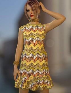 dForce Amelia Outfit Texture Expansion