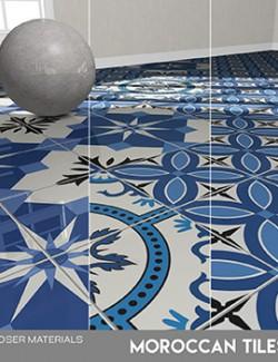 Poser - Moroccan Tiles