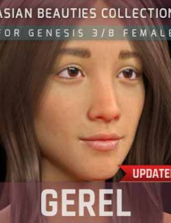 Gerel G3G8F for Genesis 3 and 8 Female