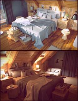 Winter Vacation Bedroom