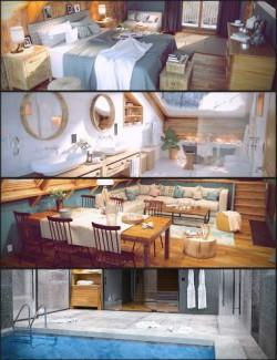 Winter Vacation House Bundle