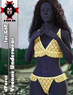 JMR dForce Yvonne Underwear for G8F