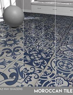 Daz Iray- Maroccan Tiles