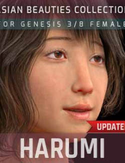 Harumi G3G8F for Genesis 3 and 8 Female
