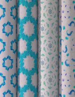 ShaaraMuse Fabrics: Soft Geometrics