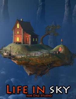 Life in sky for Daz Studio