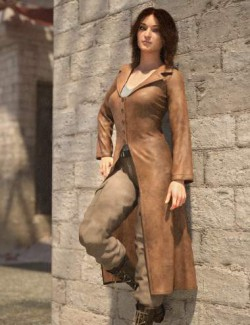 Adventure Hunter Outfit for Genesis 8 and 8.1 Females