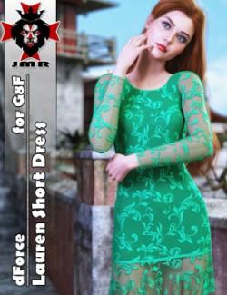 JMR dForce Lauren Short Dress for G8F